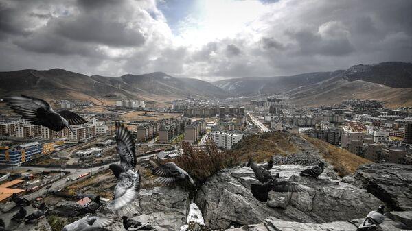 Вид на Улан-Батор