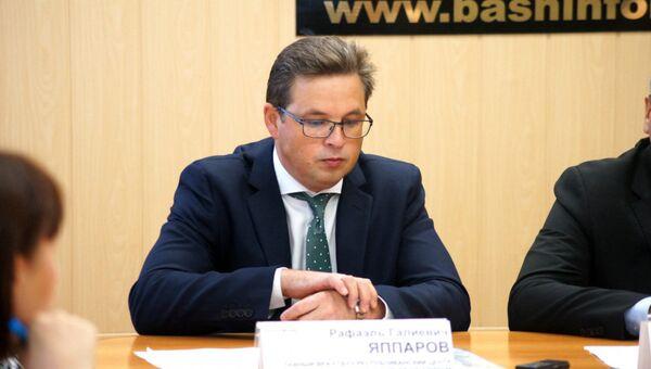 Назначенный первым заместителем министра Рафаэль Яппаров