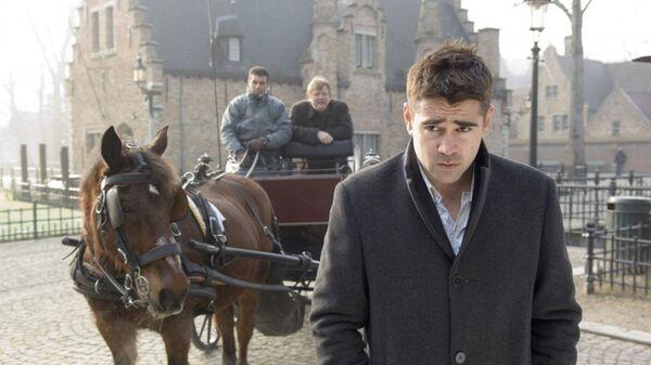 Кадр из фильма Залечь на дно в Брюгге