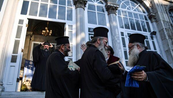 Служители Константинопольского патриархата. Архивное фото