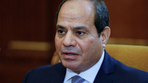 Президент Арабской Республики Египет Абдель Фаттах ас-Сиси