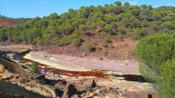 Река Рио-Тинто в Испании
