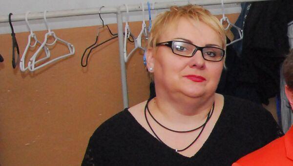Артистка украинского юмористического шоу Марина Поплавская