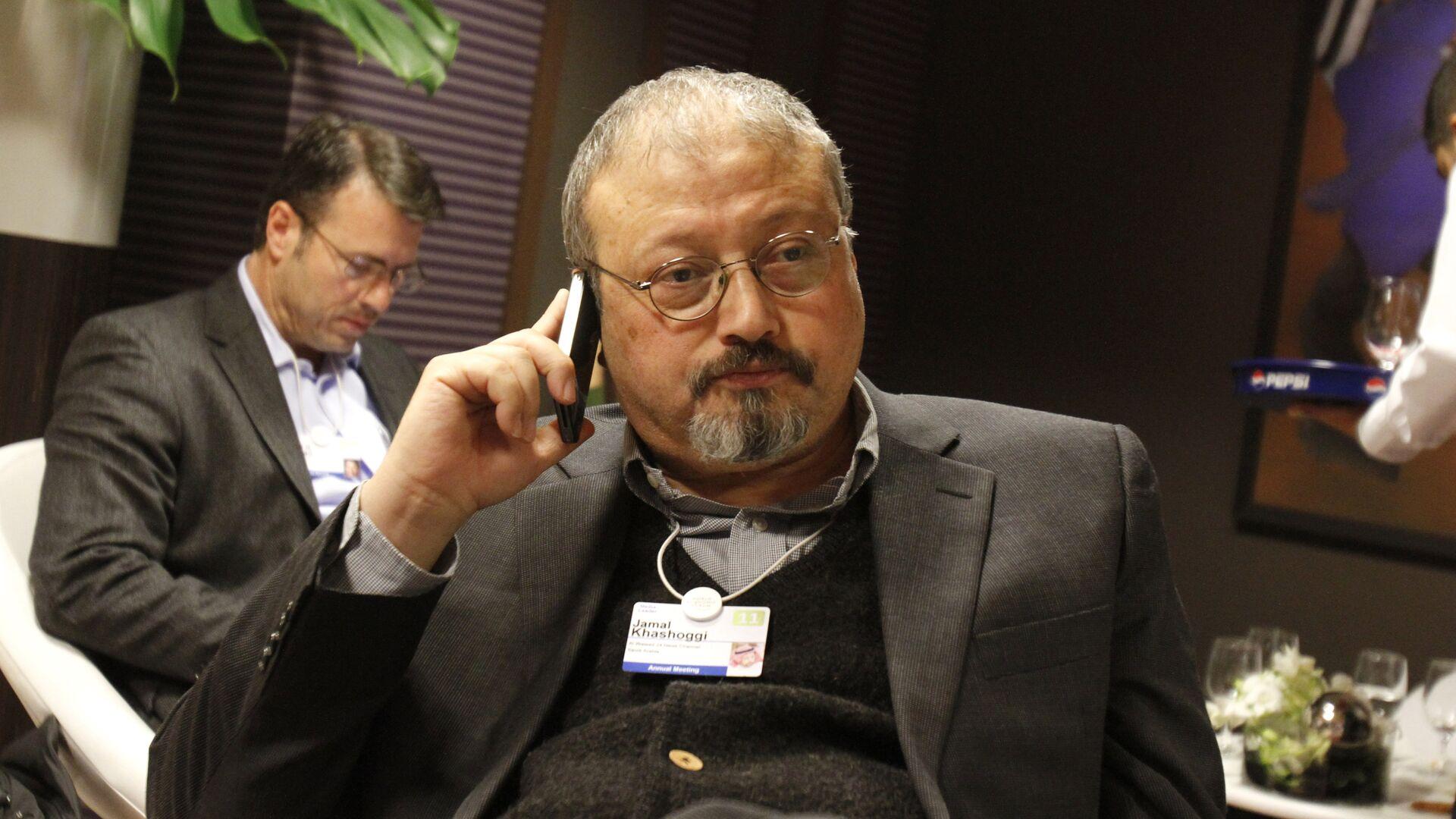 Саудовский журналист Джамаль Хашукджи  - РИА Новости, 1920, 01.03.2021