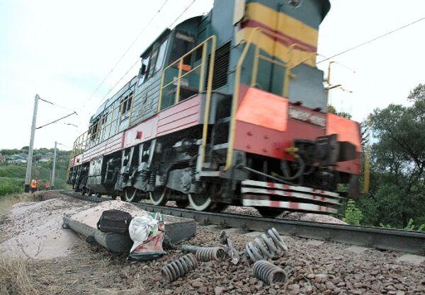 Число пострадавших в железнодорожной аварии под Тамбовом увеличилось до 88 человек