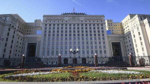 Здание министерства обороны России. Архивное фото