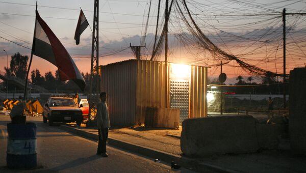 Генератор электроэнергии в Багдаде, Ирак