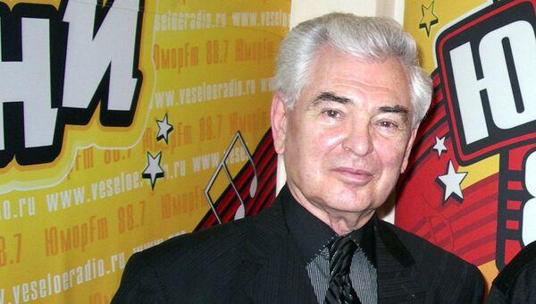 Звукоимитатор и пародист Юрий Григорьев. Архивное фото