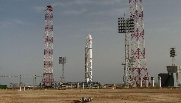 Ракета-носитель Зенит-3SLБ на космодроме Байконур. Архивное фото