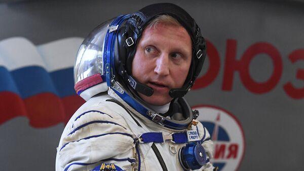 Космонавт Роскосмоса Сергей Прокопьев. Архивное фото