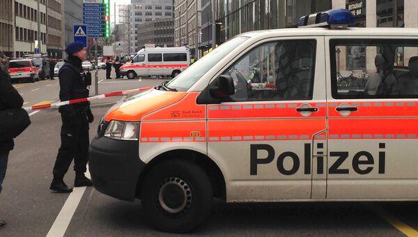 Полиция Швейцарии. Архивное фото