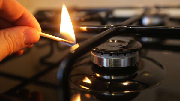 Газовая плита в жилом доме