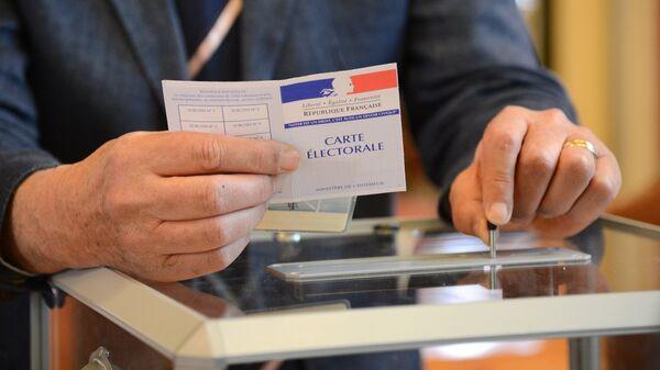 Голосование во Франции