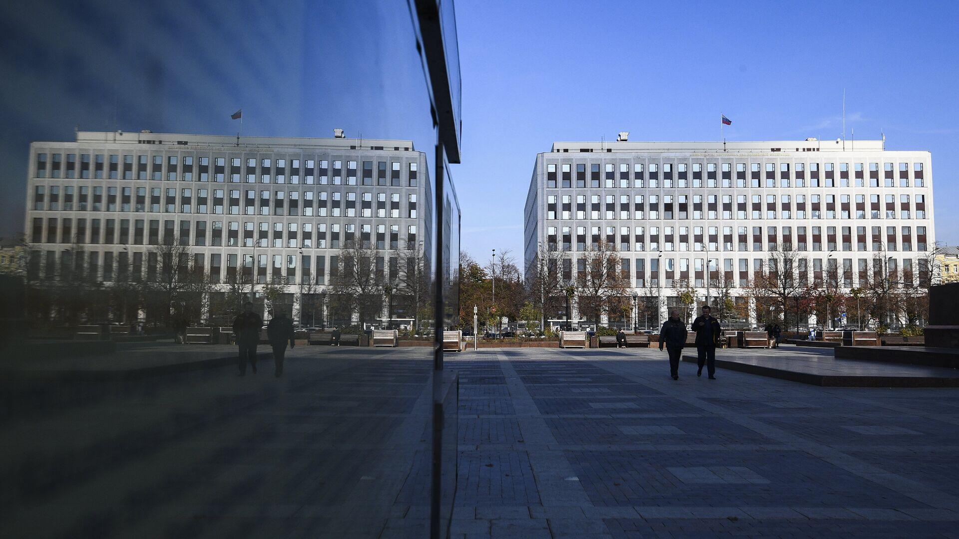 Вид на здание Министерства внутренних дел РФ - РИА Новости, 1920, 31.01.2020