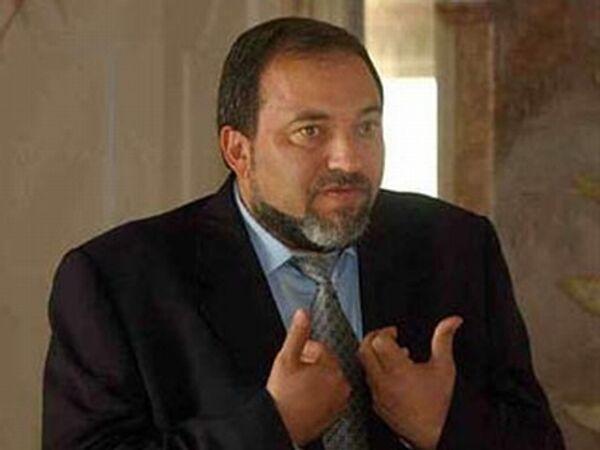 Министр иностранных дел Израиля Авигдор Либерман. Архив