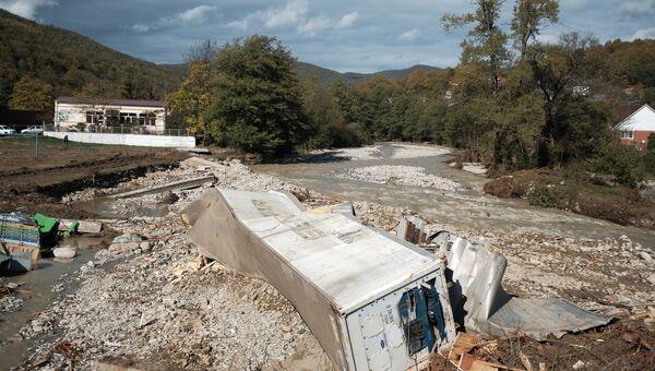 Последствия сильных дождей на территории Краснодарского края. 26 октября 2018