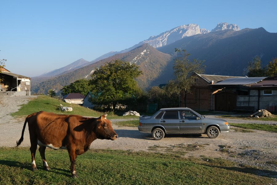 Село Балта в Северной Осетии
