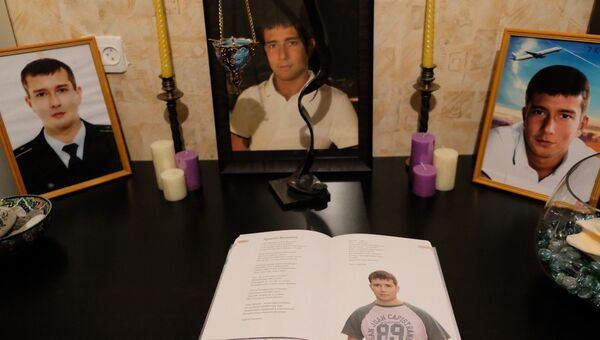Комната Армена Вишнева, погибшего в авиакатастрофе над Синаем в 2015 году
