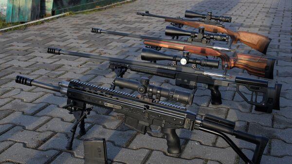 Универсальный тактический самозарядный карабин ORSIS-K15 Брат и высокоточная снайперская винтовка ORSIS Т-5000