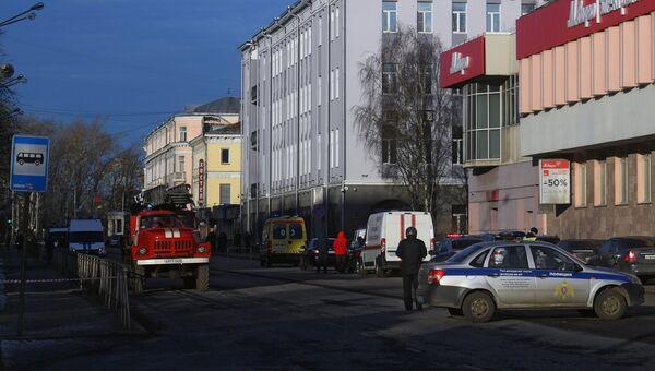 У здания ФСБ в Архангельске произошел взрыв