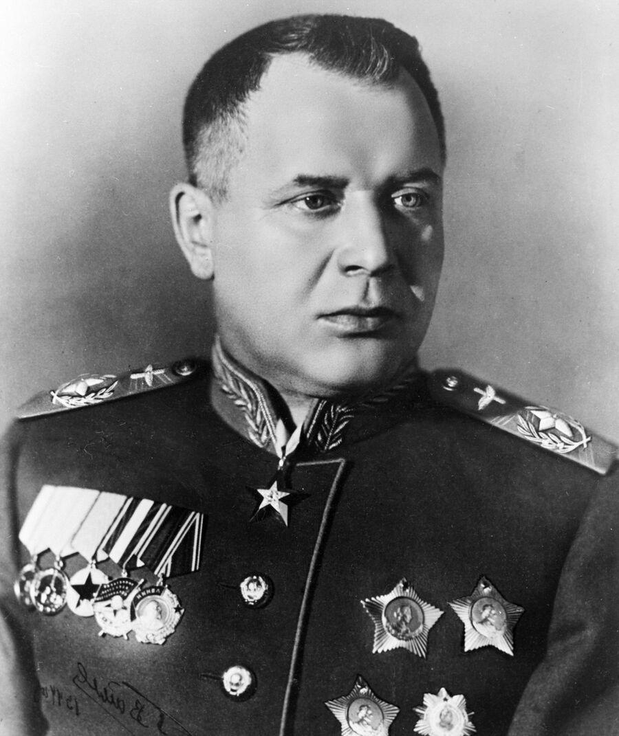 Маршал авиации Александр Новиков