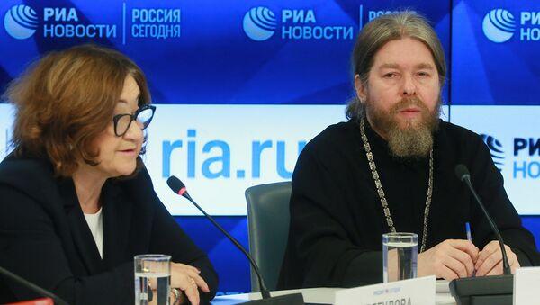 Пресс-конференция Русь Православная