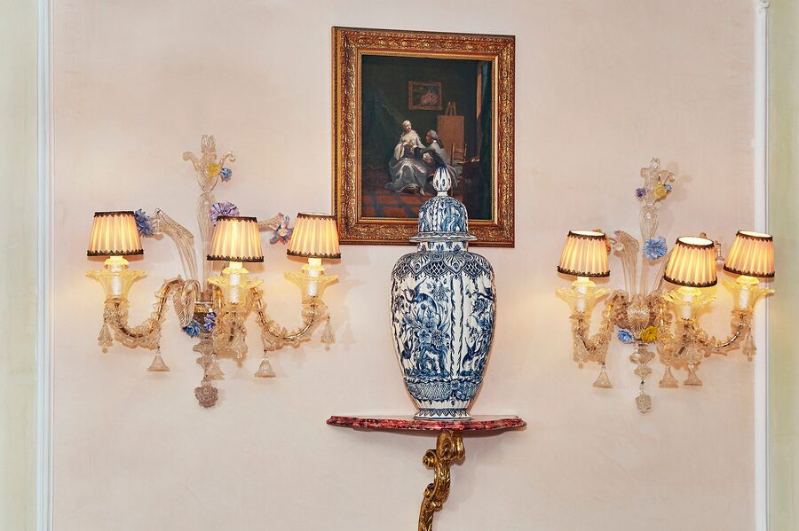 Элементы декора в отеле «Гритти Палас», Венеция