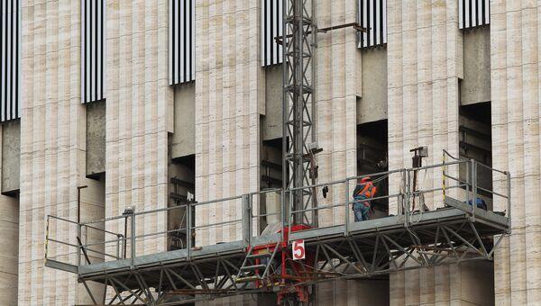 Строительство стадиона ФК Кранодар