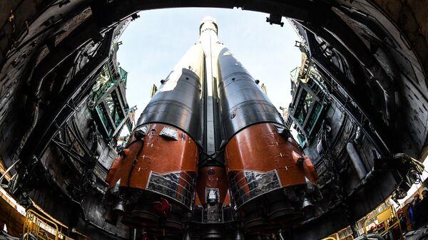 Ракета-носитель Союз-ФГ. Архивное фото