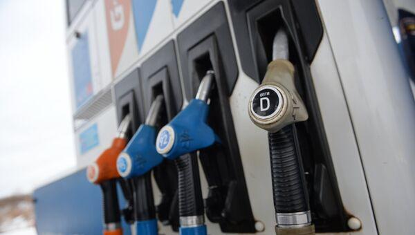 Продажа дизельного топлива в Екатеринбурге. Архивное фото