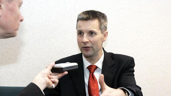 Министр обороны Латвии Артис Пабрикс. Архивное фото