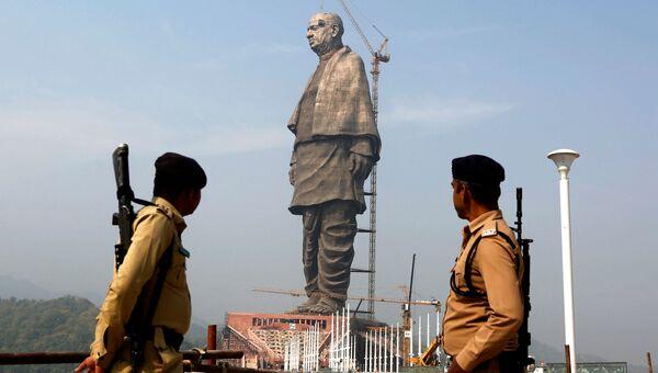 Статуя Единства в Индии. Архивное фото