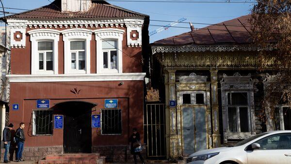 Здание отдела по вопросам миграции отдела МВД России по Уфимскому району. 1 ноября 2018