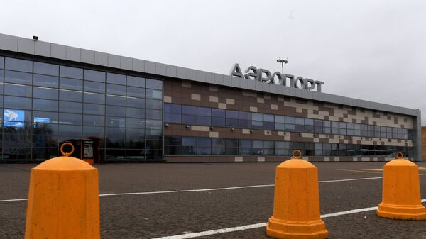Здание международного аэропорта Бегишево в Набережных Челнах