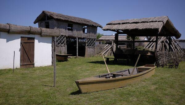 Этнографический комплекс Атамань в Краснодарском крае. Архивное фото