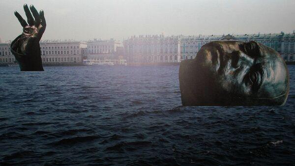 Проект Петр — Атлантида, скрытая под водой, представленный на конкурсе по созданию тематических объектов благоустройства, символизирующих историю и культуру Санкт-Петербурга
