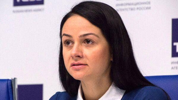 Директор Департамента молодежной политики Свердловской области Ольга Глацких