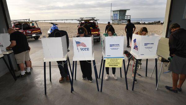Голосование на промежуточных выборах в конгресс США в Калифорнии. 6 ноября 2018