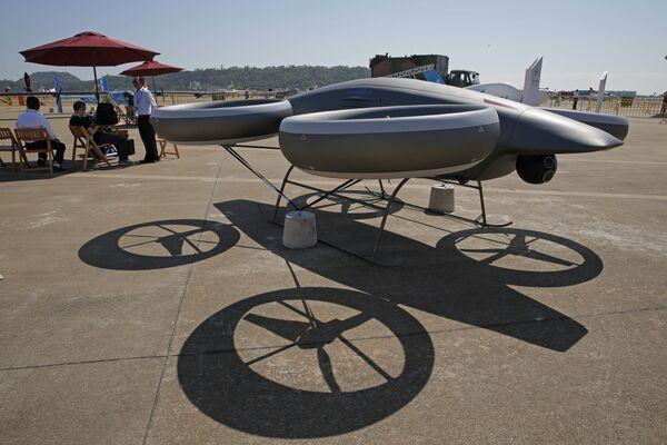 Беспилотный летательный аппарат AVIC A-Hawk II на Чжухайском авиасалоне