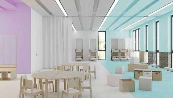 Проект детского сада в новой Москве