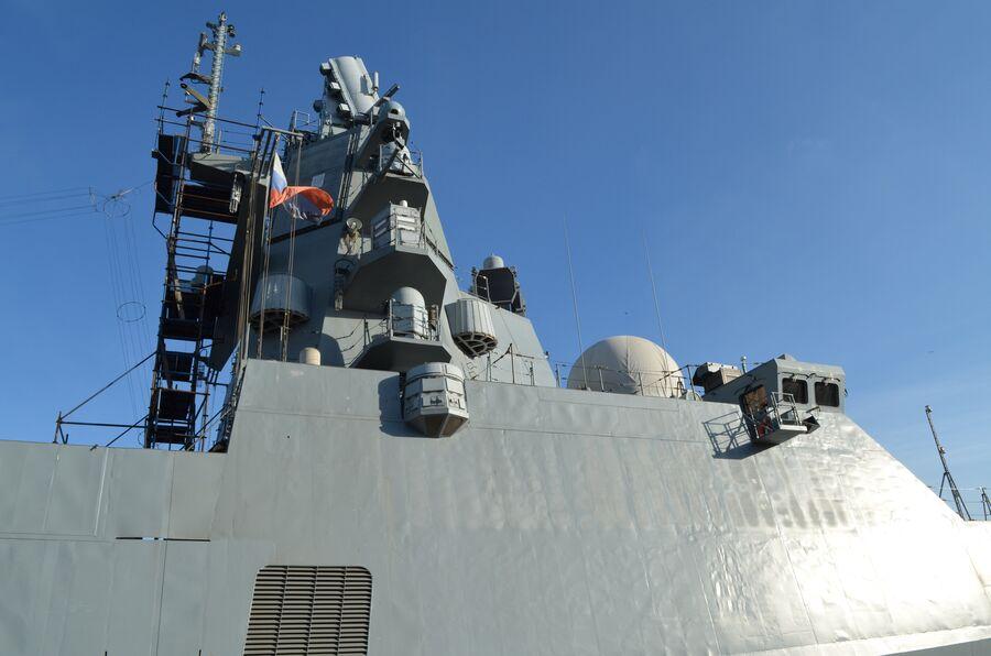 Палуба фрегата  «Адмирал флота Касатонов».