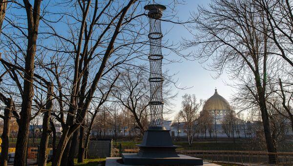 Башню-колонна знаменитого авангардного архитектора Эль Лисицкого на ВДНХ
