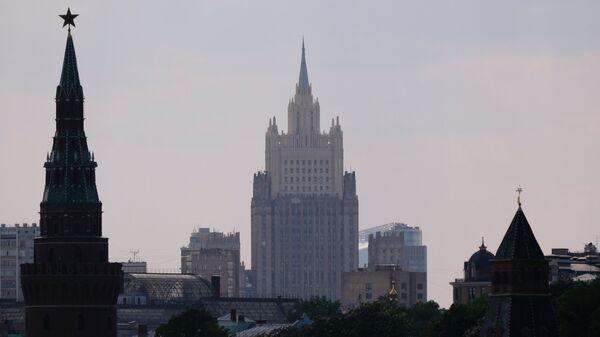 Здание МИД России. Архивное фото