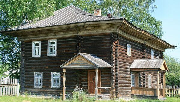 Герасимовка. Здание музея Павлика Морозова
