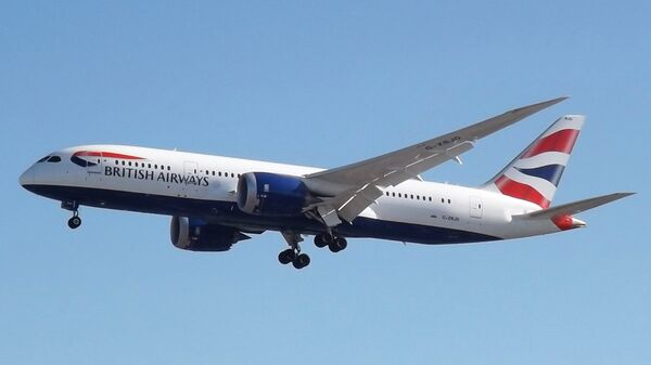 Самолет Boeing 787 авиакомпании British Airways