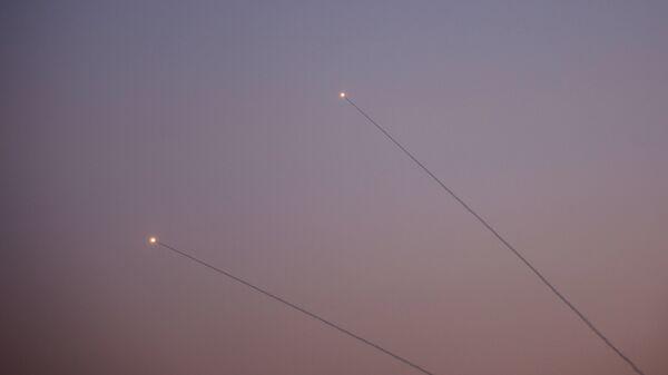 Обмен ракетными ударами между Израилем и сектором Газа