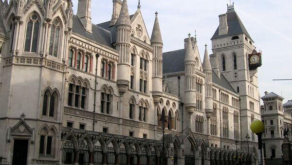 Суд в Лондоне. Архивное фото