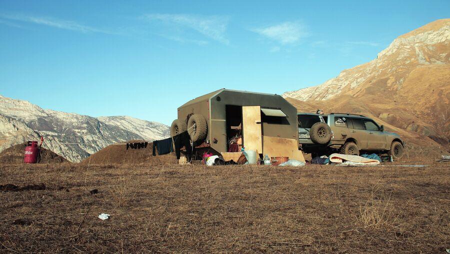 Генеральная уборка в горах Осетии