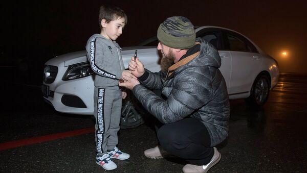 Глава Чечни Рамзан Кадыров и Рахим Куриев