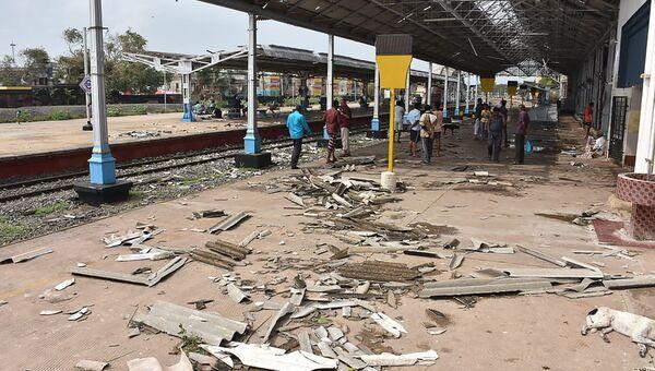Последствия циклона Гаджа в Индии. Архивное фото